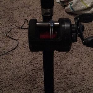 It's a bait caster I'll take 30 for it